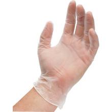 ReliaCare Vinyl Exam Gloves Medium 100/Box