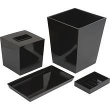 Spa Amenity Tray Black