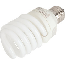 Integrated Compact Fluorescent Bulb Philips 23W 3500K T2 Twist