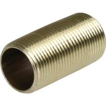 """Brass Nipple 1/2"""" x 1-1/2"""""""