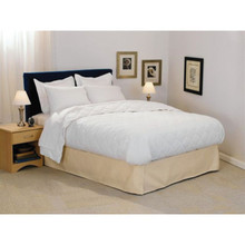 Choice Hotels Trillium Blanket Queen 90x96 32 Oz White Case Of 4