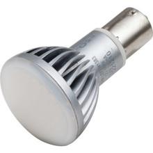 LED Bulb TCP 2W GBF Elevator (20W Equivalent) Frost 3000K BA15S