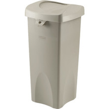 23 Gallon Rubbermaid Untouchable Swing Trash Can Lid