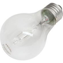 Halogen Bulb Philips 43W A19 Clear 24pk