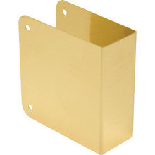 Blank Deadbolt Door Repair Cover Solid Brass