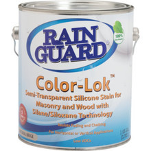 1 Gallon RainGuard Color-Lok Semi-Transparent Stain - Natural Beige