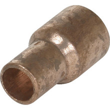 "Copper Fitting Reducer - 1"" x 1/2"""