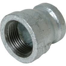"1/2"" X 3/8"" Galvanized Red Coupling"