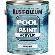1 Gallon Rust-Oleum Acrylic Pool Paint - Marlin Blue