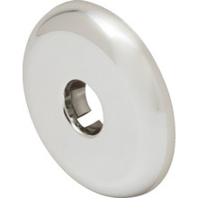 Chrome Plated Plastic Split Flange 10/Pkg 1/2 IPS