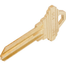 Schlage SC4 Brass 6-Pin Key Blank, Box of 50