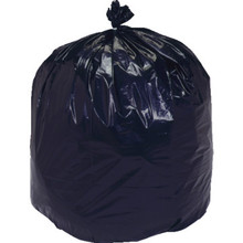 Recycled Content Waste Bag 45 Gallon Capacity Case Of 100