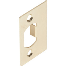 Brass Plated Standard Jamb Strike Package of 50