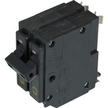 20 Amp Double Pole Circuit Breaker - Type CHQ - Use in Place of Type QO Breakers