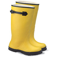 Boot Mens Yellow Size 14 Rubber