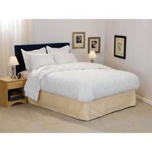 Choice Hotels Trillium Blanket Full 80x96 28 Oz White Case Of 4