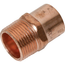 "Copper Male Adapter - 3/4"" x 1/2"""