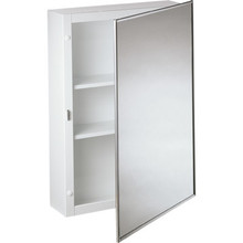 "16x26"" Surface Mount Mirror Medicine Cabinet"