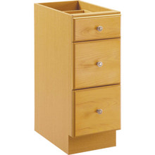 "Seasons 18W X 31-1/2H x 21""D Honey Oak Vanity Base Cabinet"