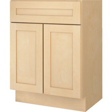 "Seasons 24W x 32-1/2H X 21""D Natural Maple Bath Vanity Base Cabinet"