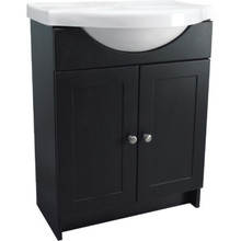 "24x31-1/2x12"" Espresso Pre-assembled Bath Vanity With Top"