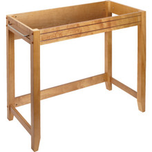 "Seasons 36x18"" Oak Wheelchair Accessible Console Vanity Cabinet"