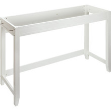 "Seasons 36x18"" White Wheelchair Accessible Console Vanity Cabinet"