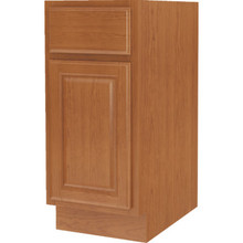 "Seasons 15W x 34-1/2H x 24""D Amber Oak Base Cabinet"