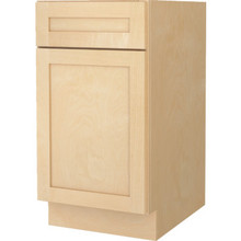 "Seasons 15W x 34-1/2H x 24""D Natural Maple Base Cabinet"