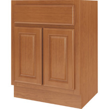 "Seasons 27W x 34-1/2H x 24""D Amber Oak Base Cabinet"