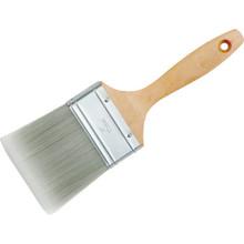 "3"" Wood Handle Synthetic Filament Flat Sash Paint Brush"