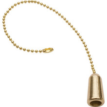"Pull Chain Brass 12"" Brass Pack of 4"
