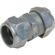 "1/2"" Compression Coupling - Die-Cast - Non-Insulated"