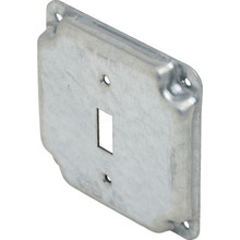 "4"" Square Raised Switchplate"