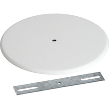 "5-1/4"" Round Metal Outlet Box Cover"