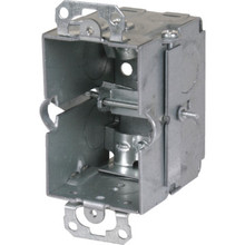 "3""X2""- 2-1/2"" Deep Work Ceiling Box With Cable Clamps"