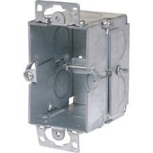"3""X2""- 2-1/2"" Deep Work Ceiling Box With Conduit"