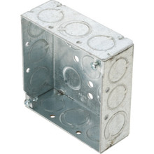 "4"" Square Steel Box 600V Rated"