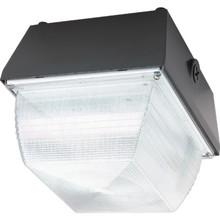 "70 Watt High Pressure Sodium Ceiling Fixture 120 Volt Bronze 9"" Square"