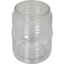 "Clear Jelly Jar Acrylic 4-1/2H 3-1/4"" Fitter"
