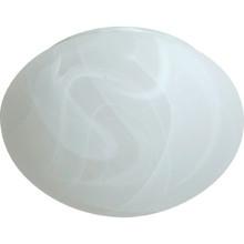 "Faux Alabaster Mushroom Glass Lens 6"" Fitter Pack of 4"