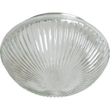 """Halophane Mushroom Glass Lens 6"""" Fitter Pack of 4"""