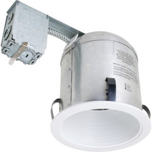 "6"" 1 Light BR-30 Remodel Rough-In IC Reccesed Housing"