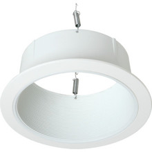 "Halo 6"" Open Baffle White Trim"