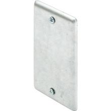 "Steel Single Gang Handy Box Blank Plate - 2-1/4W X 4-1/4""H"