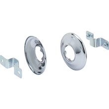 "Concealed Mount Shower Rod Bracket 1"" Chrome Plated 5Pk"