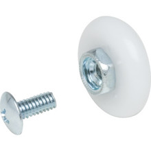"7/8"" Oval Shower Door Wheel 2Pk"