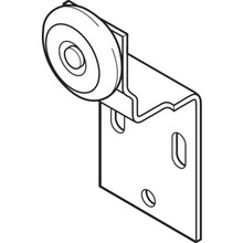 "3/4"" Wheel Rear Wardrobe Roller Package of 2"