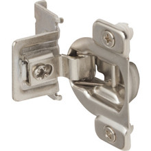 "1/2"" Overlay Self-Closing Concealed Cabinet Hinge For Framed Cabinets Pkg/2"