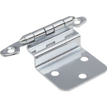 "3/8"" Inset Non-Self Closing Cabinet Hinge Package of 2"
